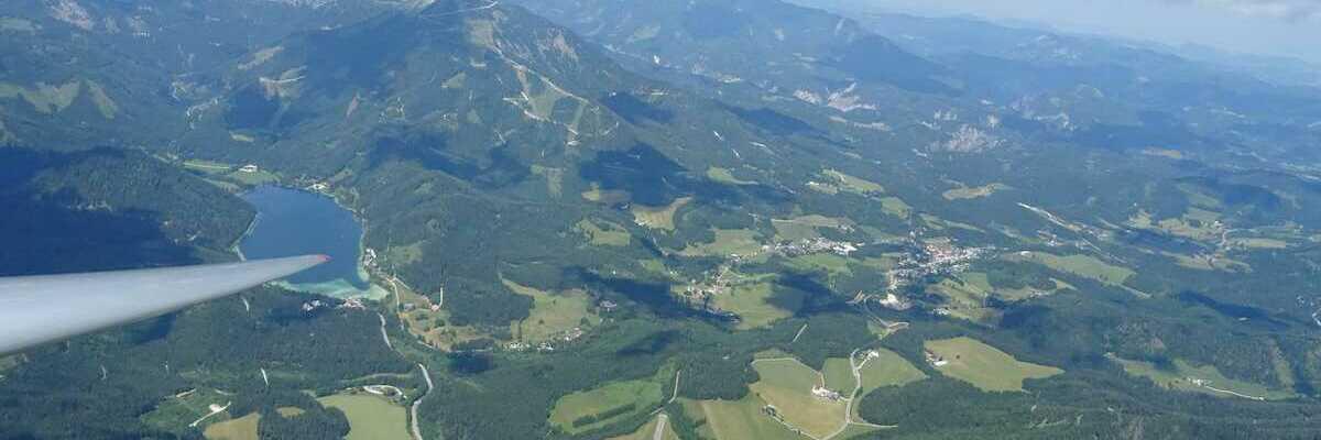 Verortung via Georeferenzierung der Kamera: Aufgenommen in der Nähe von Gemeinde Mariazell, 8630 Mariazell, Österreich in 2300 Meter