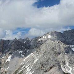 Flugwegposition um 11:46:35: Aufgenommen in der Nähe von Gemeinde Ramsau am Dachstein, 8972, Österreich in 2503 Meter