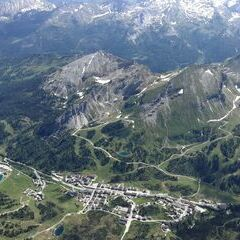 Verortung via Georeferenzierung der Kamera: Aufgenommen in der Nähe von Gemeinde Untertauern, Österreich in 3400 Meter