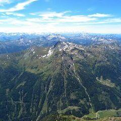 Flugwegposition um 12:07:29: Aufgenommen in der Nähe von Gemeinde Weißpriach, 5573, Österreich in 2682 Meter