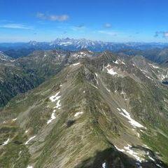 Flugwegposition um 12:07:15: Aufgenommen in der Nähe von Gemeinde Weißpriach, 5573, Österreich in 2725 Meter