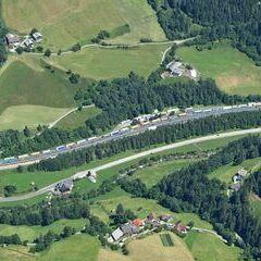 Flugwegposition um 12:39:14: Aufgenommen in der Nähe von Gemeinde Rennweg am Katschberg, 9863, Österreich in 2399 Meter