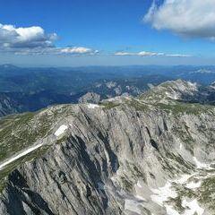 Flugwegposition um 14:13:11: Aufgenommen in der Nähe von St. Ilgen, 8621 St. Ilgen, Österreich in 2354 Meter
