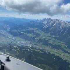 Flugwegposition um 13:45:07: Aufgenommen in der Nähe von Gemeinde Haus, Österreich in 2919 Meter