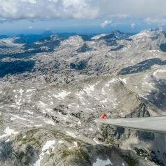Flugwegposition um 12:26:34: Aufgenommen in der Nähe von Weißenbach bei Liezen, 8940, Österreich in 2679 Meter