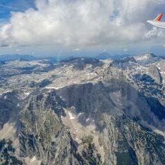 Flugwegposition um 12:32:57: Aufgenommen in der Nähe von Gemeinde Hinterstoder, Hinterstoder, Österreich in 2740 Meter