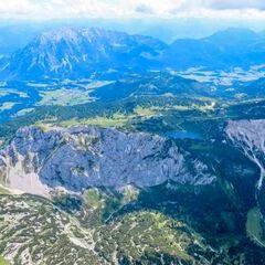Flugwegposition um 12:29:23: Aufgenommen in der Nähe von Gemeinde Wörschach, 8942, Österreich in 2635 Meter