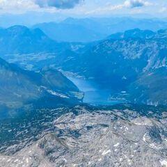 Flugwegposition um 12:27:52: Aufgenommen in der Nähe von Gemeinde Wörschach, 8942, Österreich in 2599 Meter