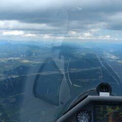 Flugwegposition um 12:49:35: Aufgenommen in der Nähe von Sankt Marein-Feistritz, Österreich in 2162 Meter