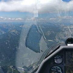 Flugwegposition um 10:00:37: Aufgenommen in der Nähe von Gemeinde Thörl, Österreich in 2339 Meter