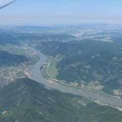 Verortung via Georeferenzierung der Kamera: Aufgenommen in der Nähe von Gemeinde Martinsberg, Österreich in 2000 Meter