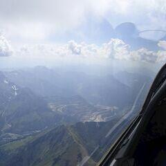 Flugwegposition um 13:45:50: Aufgenommen in der Nähe von Donnersbach, Österreich in 2313 Meter