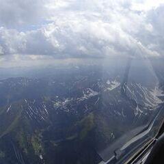 Flugwegposition um 14:13:56: Aufgenommen in der Nähe von Treglwang, Österreich in 2314 Meter