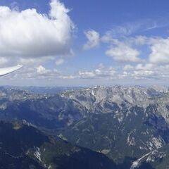 Flugwegposition um 12:01:29: Aufgenommen in der Nähe von Gußwerk, Österreich in 2272 Meter