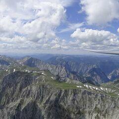 Flugwegposition um 12:40:44: Aufgenommen in der Nähe von Tragöß-Sankt Katharein, Österreich in 2250 Meter