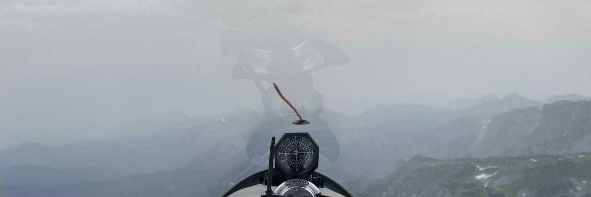 Flugwegposition um 14:38:25: Aufgenommen in der Nähe von Gemeinde Thörl, Österreich in 2290 Meter