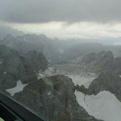 Flugwegposition um 15:09:58: Aufgenommen in der Nähe von Gemeinde Filzmoos, 5532, Österreich in 3263 Meter