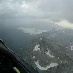 Flugwegposition um 15:10:12: Aufgenommen in der Nähe von Gemeinde Filzmoos, 5532, Österreich in 3266 Meter