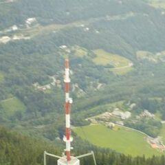 Flugwegposition um 11:01:44: Aufgenommen in der Nähe von Kapellen, Österreich in 2184 Meter
