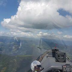Flugwegposition um 12:35:38: Aufgenommen in der Nähe von Gemeinde Frojach-Katsch, Österreich in 2224 Meter