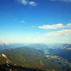 Flugwegposition um 06:32:56: Aufgenommen in der Nähe von Gemeinde Finkenstein am Faaker See, Österreich in 2134 Meter