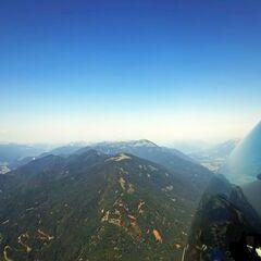 Flugwegposition um 08:43:31: Aufgenommen in der Nähe von Gemeinde St. Stefan im Gailtal, Österreich in 1881 Meter