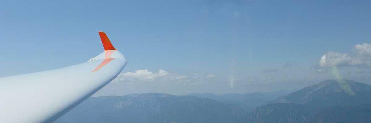 Flugwegposition um 12:44:22: Aufgenommen in der Nähe von Gemeinde Raach am Hochgebirge, 2640, Österreich in 2026 Meter