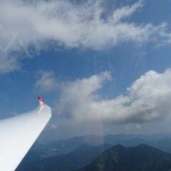 Flugwegposition um 08:58:47: Aufgenommen in der Nähe von Gemeinde St. Pankraz, Österreich in 1604 Meter