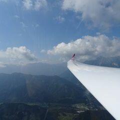 Flugwegposition um 08:58:49: Aufgenommen in der Nähe von Gemeinde St. Pankraz, Österreich in 1597 Meter