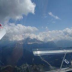 Flugwegposition um 12:47:22: Aufgenommen in der Nähe von 32020 Livinallongo del Col di Lana, Belluno, Italien in 3197 Meter