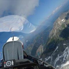 Flugwegposition um 14:40:40: Aufgenommen in der Nähe von Gemeinde Malta, Österreich in 3148 Meter