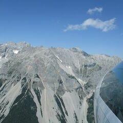 Flugwegposition um 12:06:34: Aufgenommen in der Nähe von Gemeinde Ramsau am Dachstein, 8972, Österreich in 2193 Meter
