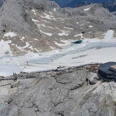 Flugwegposition um 11:45:13: Aufgenommen in der Nähe von Gemeinde Ramsau am Dachstein, 8972, Österreich in 2622 Meter
