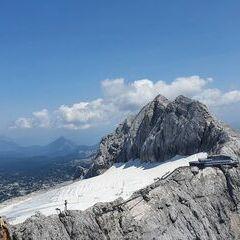 Flugwegposition um 11:44:01: Aufgenommen in der Nähe von Gemeinde Ramsau am Dachstein, 8972, Österreich in 2636 Meter