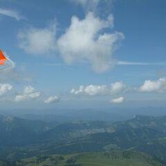 Flugwegposition um 13:56:05: Aufgenommen in der Nähe von Gemeinde Neuberg an der Mürz, 8692, Österreich in 2428 Meter