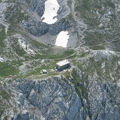 Flugwegposition um 12:02:58: Aufgenommen in der Nähe von St. Ilgen, 8621 St. Ilgen, Österreich in 2510 Meter