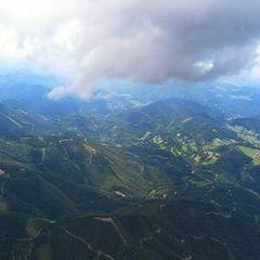 Flugwegposition um 12:13:05: Aufgenommen in der Nähe von Gemeinde Ramsau, Österreich in 2044 Meter
