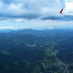 Flugwegposition um 13:14:09: Aufgenommen in der Nähe von Gußwerk, Österreich in 2804 Meter