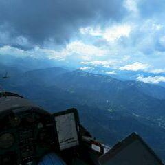 Flugwegposition um 13:28:20: Aufgenommen in der Nähe von Gußwerk, Österreich in 2818 Meter