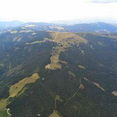 Flugwegposition um 14:12:18: Aufgenommen in der Nähe von Mönichwald, Österreich in 2604 Meter