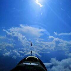 Flugwegposition um 14:40:40: Aufgenommen in der Nähe von Gemeinde St. Margarethen im Lungau, Österreich in 3144 Meter
