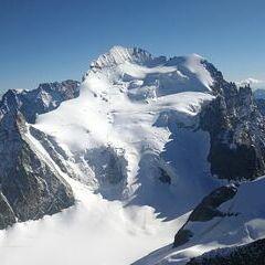 Verortung via Georeferenzierung der Kamera: Aufgenommen in der Nähe von Arrondissement de Briançon, Frankreich in 3774 Meter