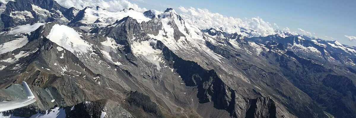 Verortung via Georeferenzierung der Kamera: Aufgenommen in der Nähe von 11010 Aymavilles, Aostatal, Italien in 4118 Meter