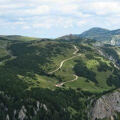 Flugwegposition um 10:02:10: Aufgenommen in der Nähe von Gemeinde Neuberg an der Mürz, 8692, Österreich in 1807 Meter