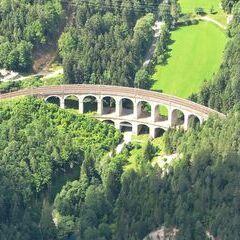 Flugwegposition um 10:20:49: Aufgenommen in der Nähe von Gemeinde Semmering, Österreich in 1943 Meter