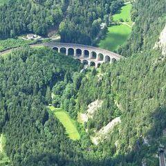 Flugwegposition um 10:21:30: Aufgenommen in der Nähe von Gemeinde Semmering, Österreich in 1863 Meter