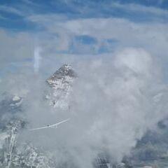 Flugwegposition um 14:20:22: Aufgenommen in der Nähe von 11010 Bionaz, Aostatal, Italien in 4023 Meter