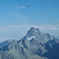 Flugwegposition um 16:30:53: Aufgenommen in der Nähe von Arrondissement de Briançon, Frankreich in 3190 Meter