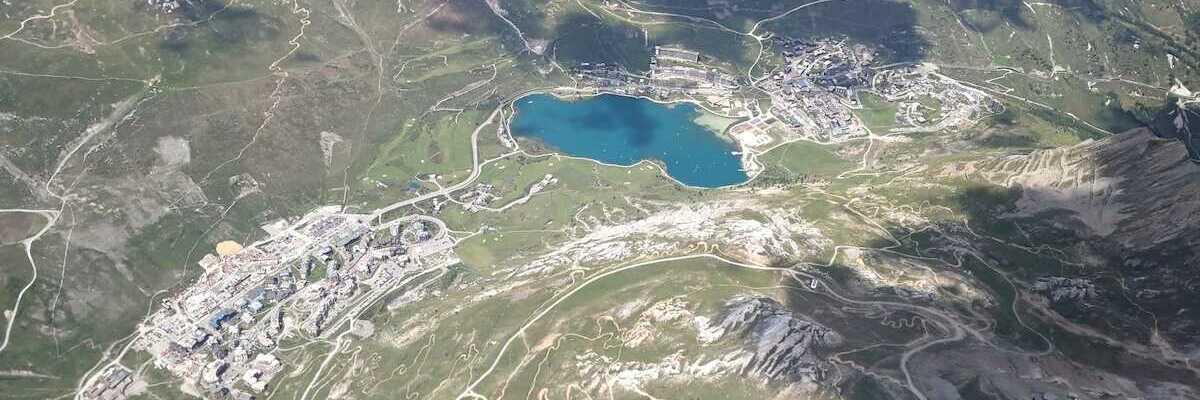 Verortung via Georeferenzierung der Kamera: Aufgenommen in der Nähe von Arrondissement d'Albertville, Frankreich in 3900 Meter