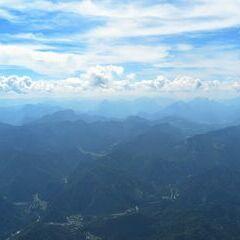 Flugwegposition um 12:47:06: Aufgenommen in der Nähe von Gemeinde Wildalpen, 8924, Österreich in 2530 Meter